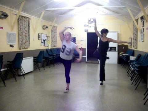 new routine - ballet
