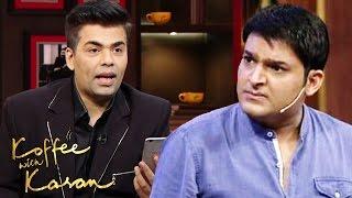 Kapil Sharma's Episode DELETED On Koffee With Karan 5 - WAR BEGINS