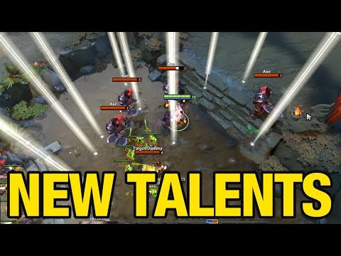 NEW TALENTS 7.07 - Vol 1 - Dota 2