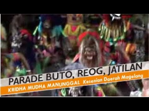 Parade Buto, Reog, Jatilan video