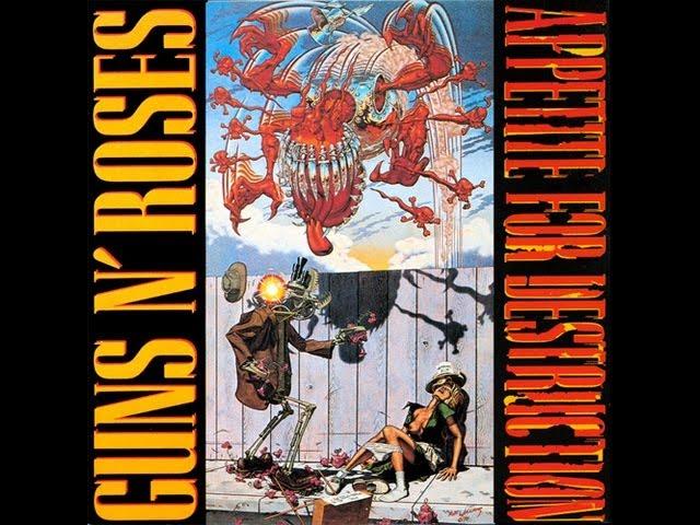 Guns n roses Appetite for destruction Full album