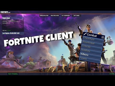 Minecraft Fortnite Hack Client Review!