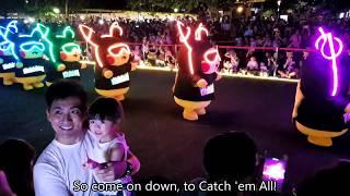 Pikachu Night Parade @ Sentosa Palawan Beach | 1st Time Outside Japan!