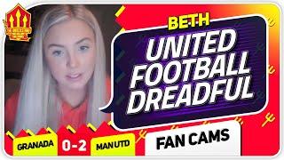BETH! RASHFORD IS UNDERATED! Granada 0-2 Manchester United Fan Cam