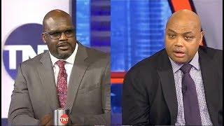 Shaq & Charles Barkley PREDICT: Raptors vs 76ers - East semis | Who wins? | Inside The NBA