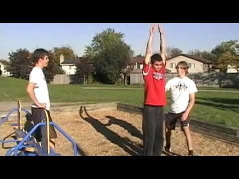 Backflip - Como hacer un giro en el aire, tutorial Backflip