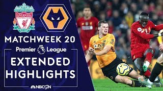Liverpool v. Wolves | PREMIER LEAGUE HIGHLIGHTS | 12/29/19 | NBC Sports