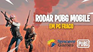 COMO RODAR PUBG MOBILE OFICIAL EM PC FRACO / GAME BOOSTER + EMULADOR TENCENT GAMES 2019 ⚡