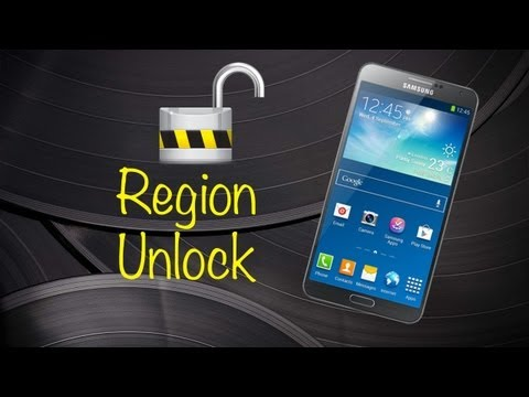 How to Region Unlock Your Samsung Galaxy Note 3 to Use it in Another Region (It is not Sim Unlock)