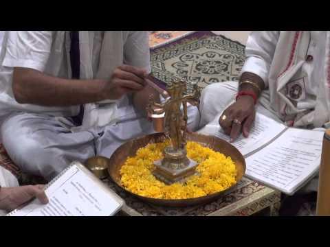 Shree Rudrabhishek seva at Shree Aniruddha Gurukeshetram - 27 Oct 2014