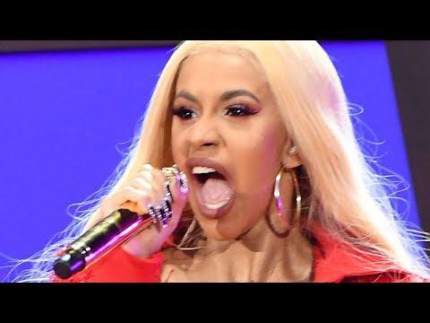 Nicki Minaj & 6ix9ine Shade Cardi B In New Music Video | Hollywoodlife