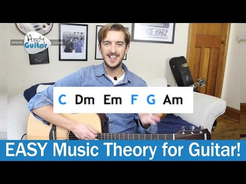 Music Theory for Beginners - What is a guitar 'Key'? (Level 5 04) Key of C on Guitar