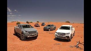 Mercedes X-Class vs Nissan Navara vs Holden Colorado vs Ford Ranger vs Toyota Hilux vs Amarok