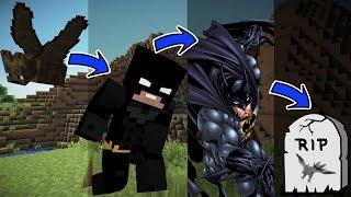 Kdyby Mohl Batman Reálně Stárnout v Minecraftu. | Životní cyklus
