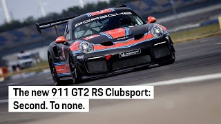 The new 911 GT2 RS Clubsport.