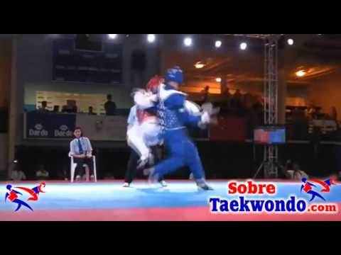 Great World Taekwondo Fight Between Korea Vs Iran video