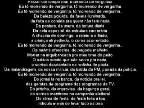 Titelbild des Gesangs Brasa von Gabriel O Pensador