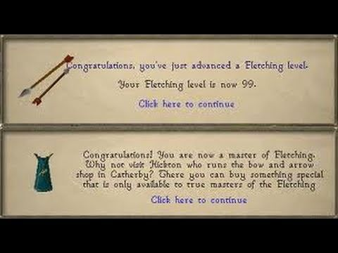 Runescape – How Not  To Lose Money With Fletching
