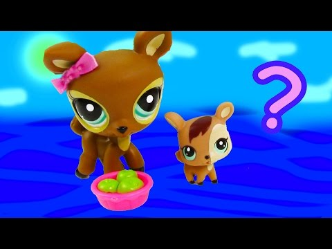 Lps Mommy Baby Deer Littlest Pet Shop Mystery Surpirse Daddy Unboxing Opening Mom Dad Review video