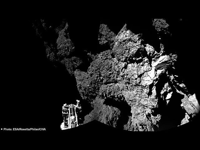 Philae'nın kuyruklu yıldıza tarihi inişinde yeni ayrıntılar ortaya çıktı