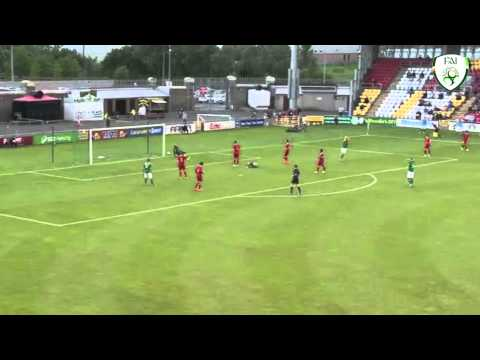 UEFA Under 19's Elite Qualifiers Ireland v Turkey - Highlights & post match interview