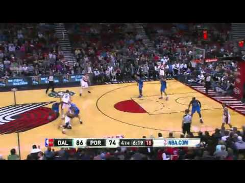 Dallas Mavericks Vs Portland Trail Blazers Highlights 7 April 2013 - NBA CIRCLE