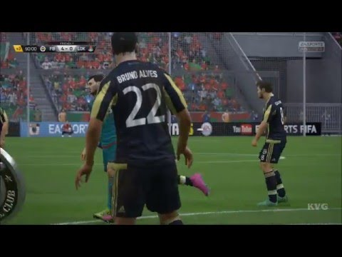 FIFA 16 - UEFA Europa League - Fenerbahçe SK vs FC Lokomotiv Moscow Gameplay (XboxONE HD)