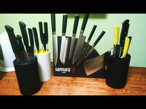 Комплекты ножей от Самуры