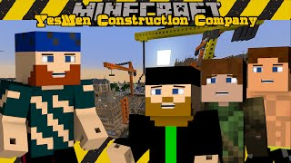 Minecraft SMP | YesMen Construction Company | #1 SAFETY FIRST