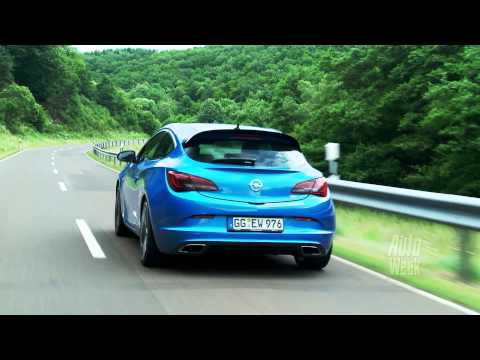 Opel Astra OPC 2012 roadtest (English Subtitles)