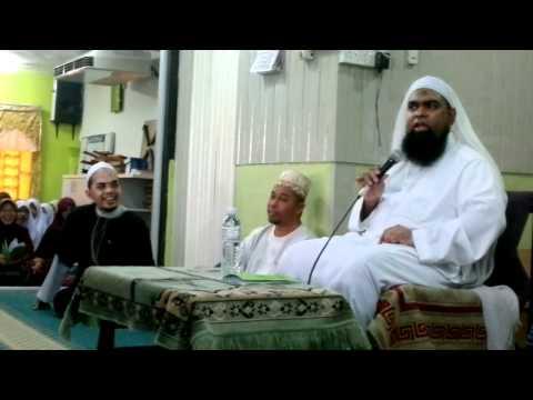 Ustaz Shahul Hamid di Maahad Tahfiz Ibnu Sina   part 2
