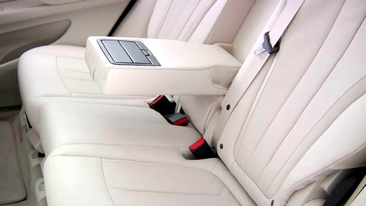 Bmw X5 Rear Comfort Seats Youtube