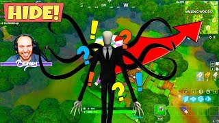 funny slenderman gamemode in fortnite playground mode - slender man fortnite