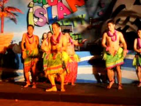 ALOHA DANCE CONTEST - MANILA BULLETIN CHRISTMAS PARTY 2011