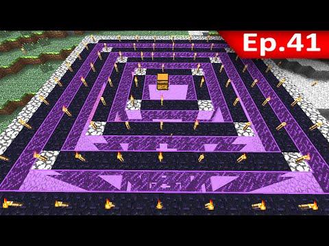 Tackle⁴⁸²⁶ Minecraft 1.7.9 #41 Gold Farm: โครงสร้าง ฟาร์มทอง