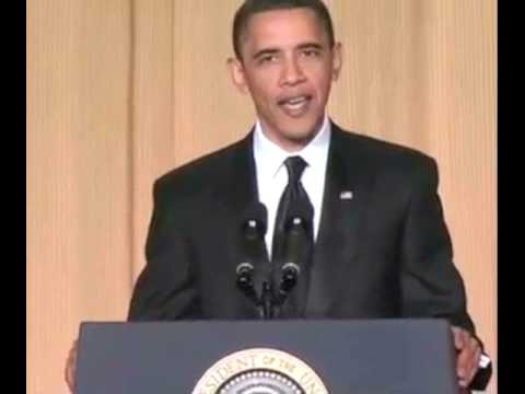 Obama Jokes About Predator Drones At The 2010 White House Correspondents Association Dinner
