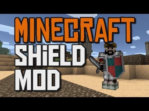 Minecraft Mod! - Shield Mod!