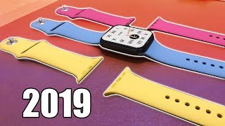 Apple Watch New Sport Band Colors of 2019