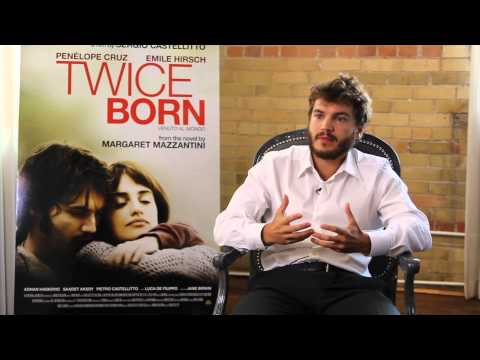 Emile Hirsch at the 2012 Toronto International Film Festival for Twice Born