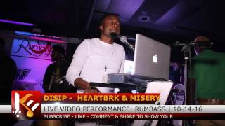 Disip de Gazman  -  Heartbreak & Misery   - Live Performance @ Rumbass [ 10 - 14 -16 ]