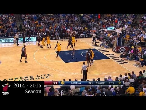 Dwyane Wade Full Highlights at Pacers (2015.04.06) - 27 Points, 3 Assists