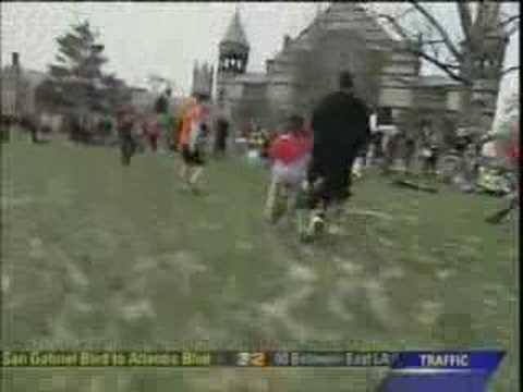 College Quidditch Middlebury Vs. Amherst Part 2