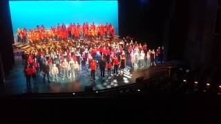 SCPA - Musical Theater Extravaganza 2015 - 21 Guns/One Day More