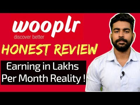 How to Earn Money Online with Wooplr 2018   Honest Review   Real Earning Revealed   Must Watch