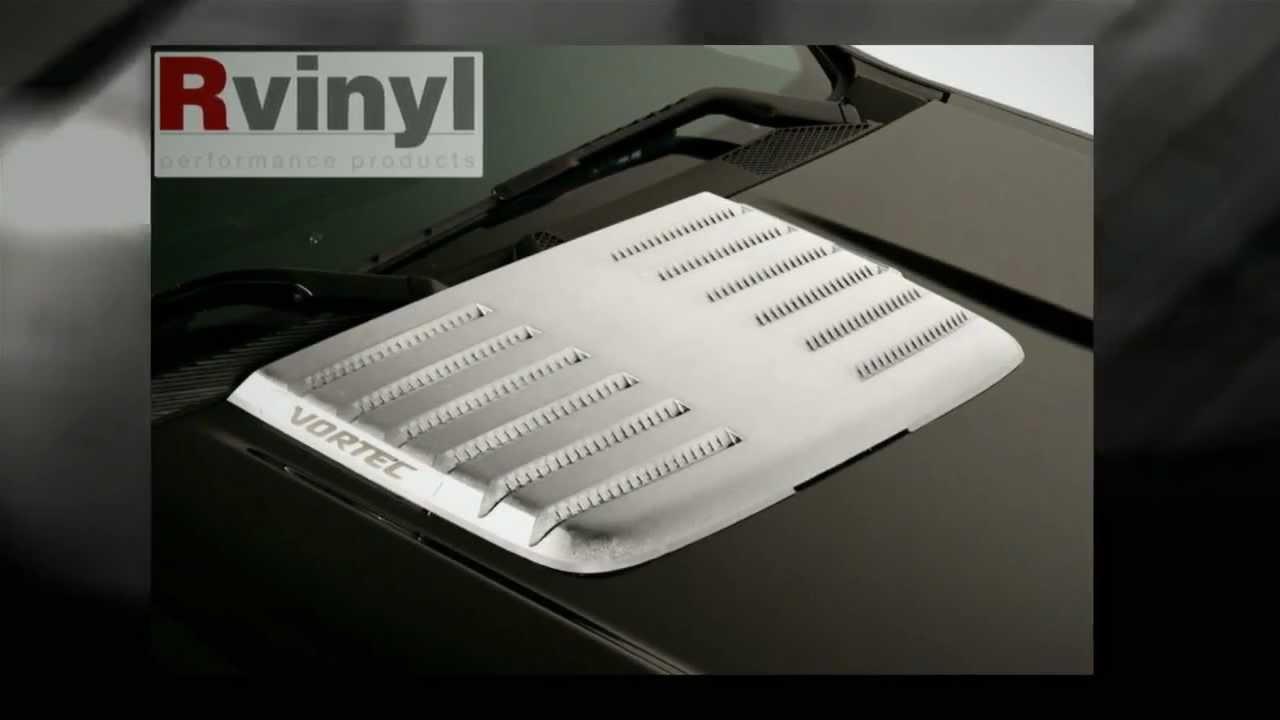 Putco 2011-2013 GMC Sierra HD Hood Deck Vent Cover? - YouTube