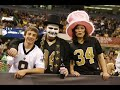 New Orleans saints fan tribute