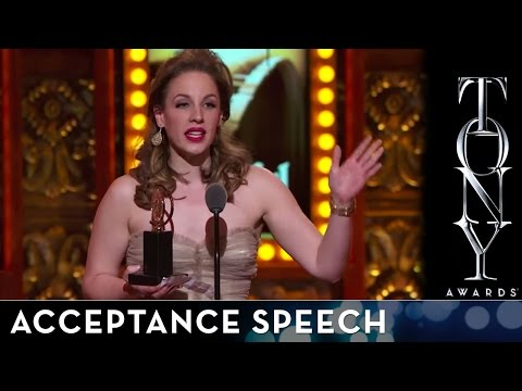 2014 Tony Awards - Jessie Mueller - Best Performance by an Actress in a Leading Role in a Musical