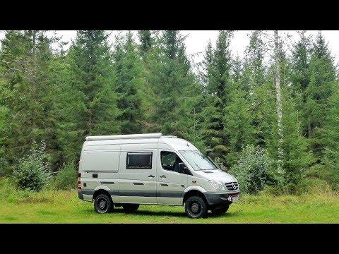 Teil 6 Sprinter4x4: Wir reisen mit unserem Allrad-Camper-Van durch Schweden.