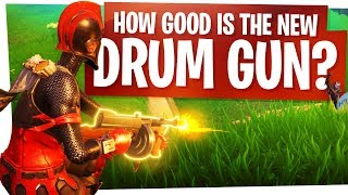 How GOOD is the New Drum Gun? - Fortnite New SMG Hybrid