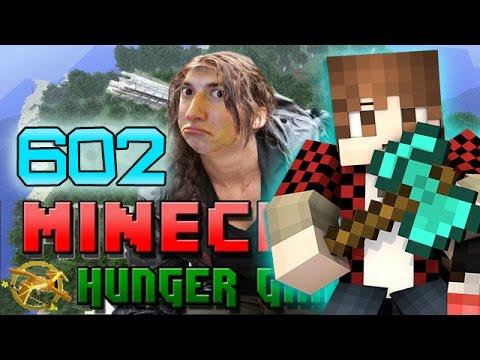 Minecraft: Hunger Games W mitch! Game 602 - Diamond Betty Axe! video